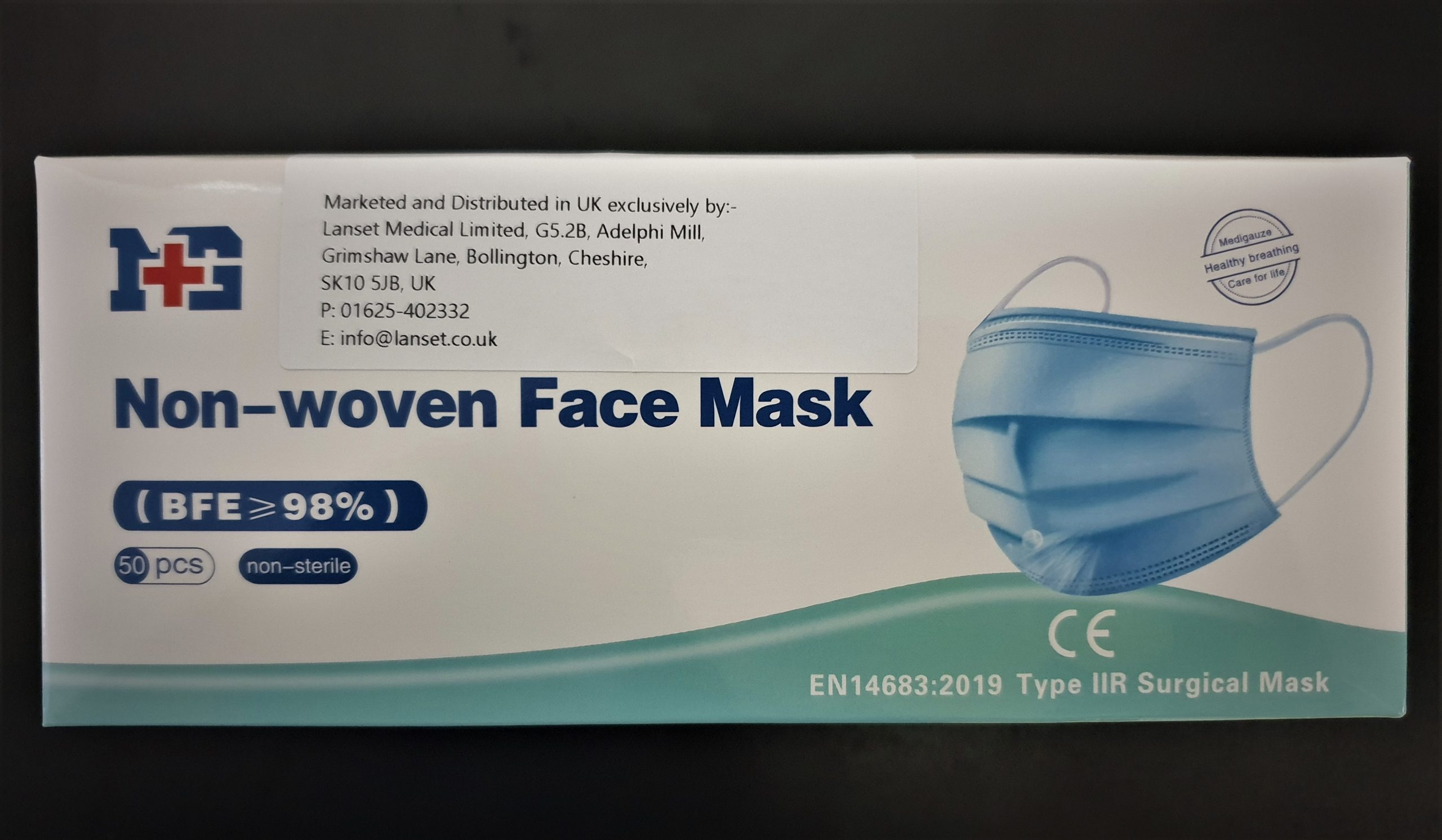IIR 3-Ply Surgical Medical Face Masks