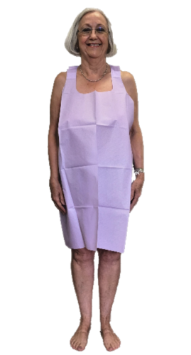 Hospital Gowns, Bare Modest Apron